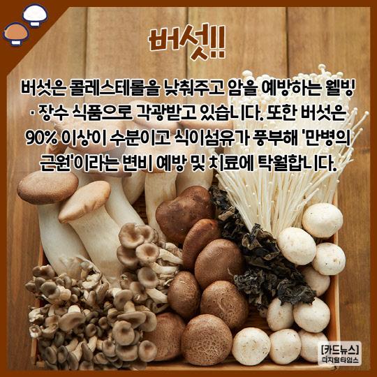 [카드뉴스] 환절기 면역력 강화 슈퍼푸드 BEST5